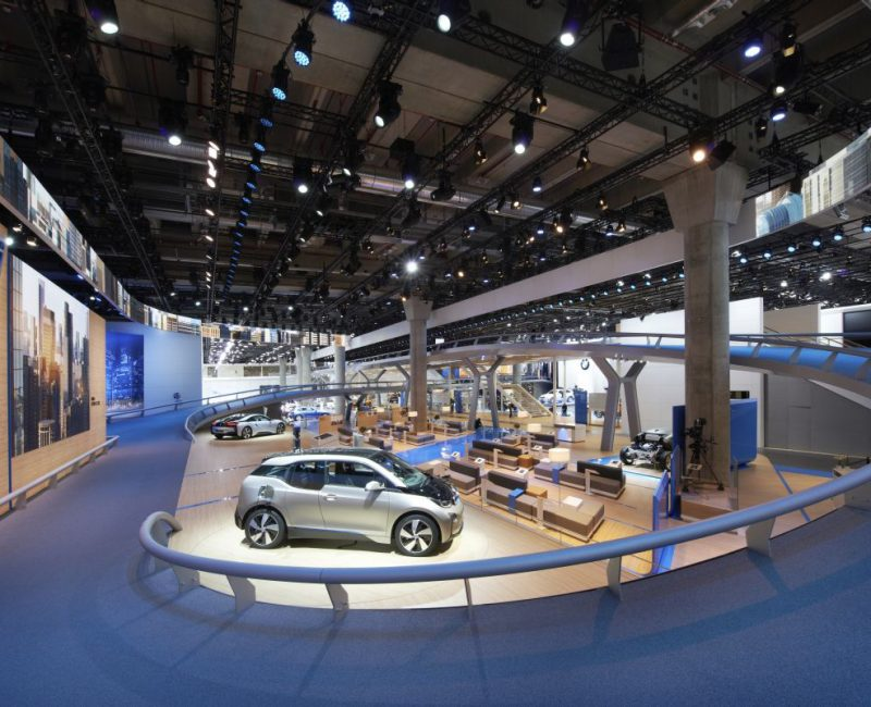 IAA 2013 BMW Messestand